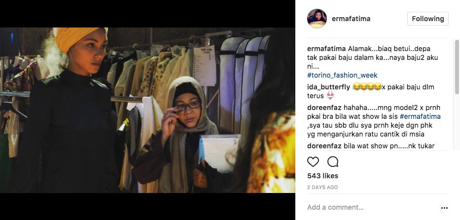 Torino Fashion Week, Heboh Model Mak Cun Tak Pakai Baju Dalam?